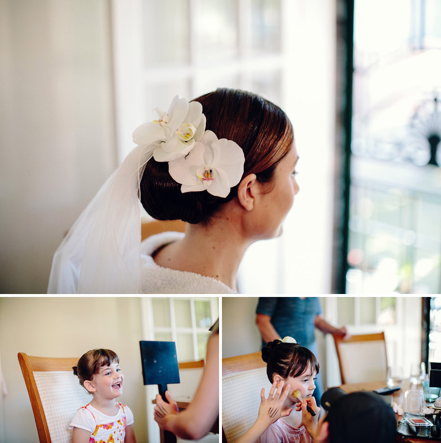 Elegant Wedding Photographers: Flowergirl makeup