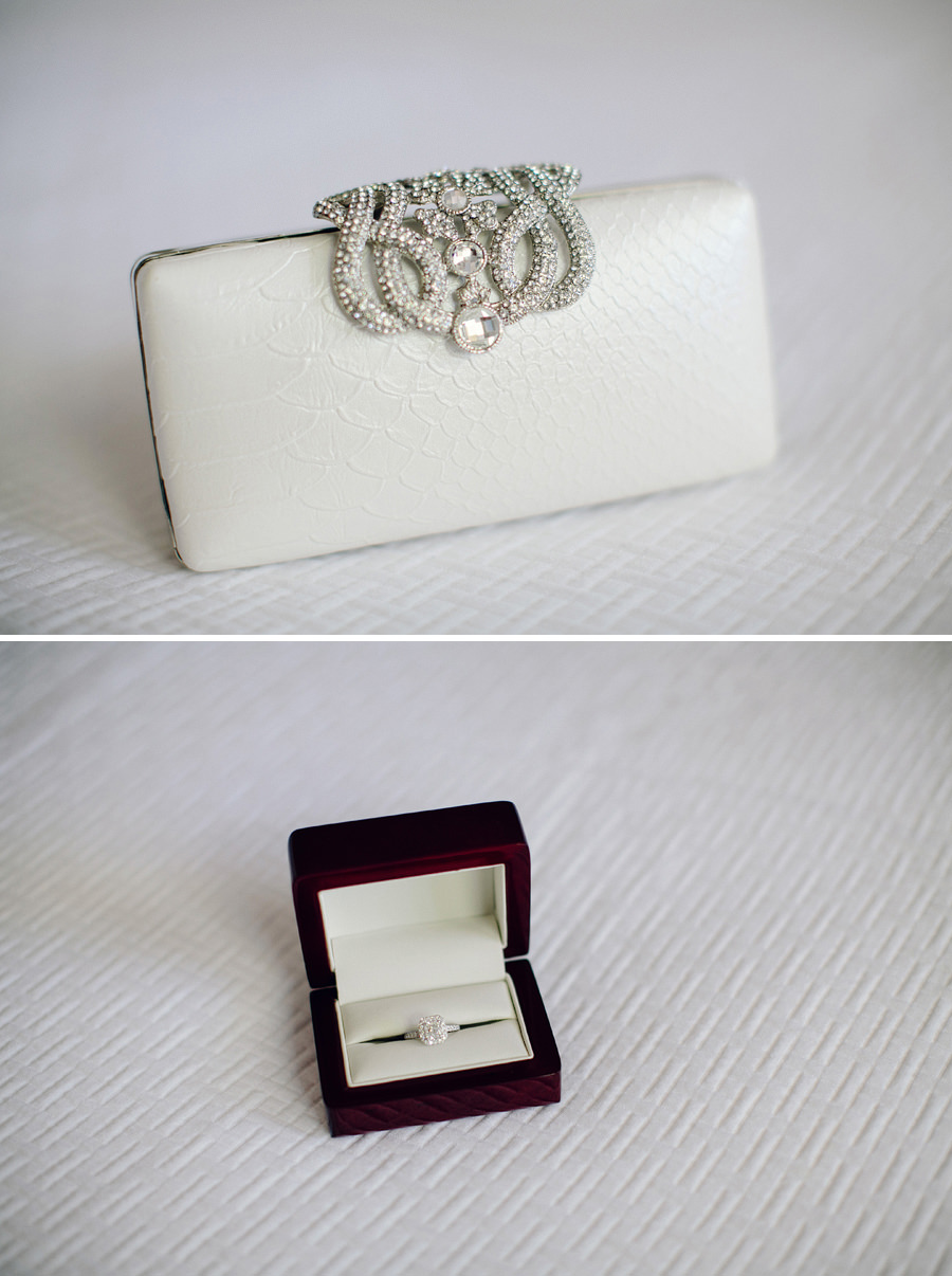 Fine Art Wedding Photographers: Clutch & Ring