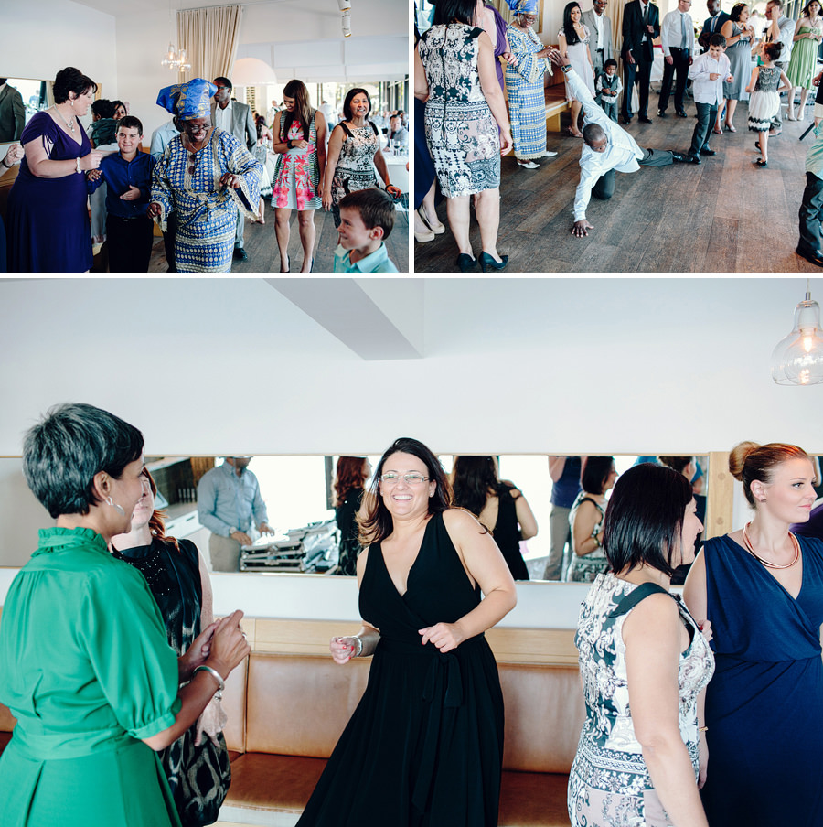Fun Wedding Photographers: Packed dancefloor