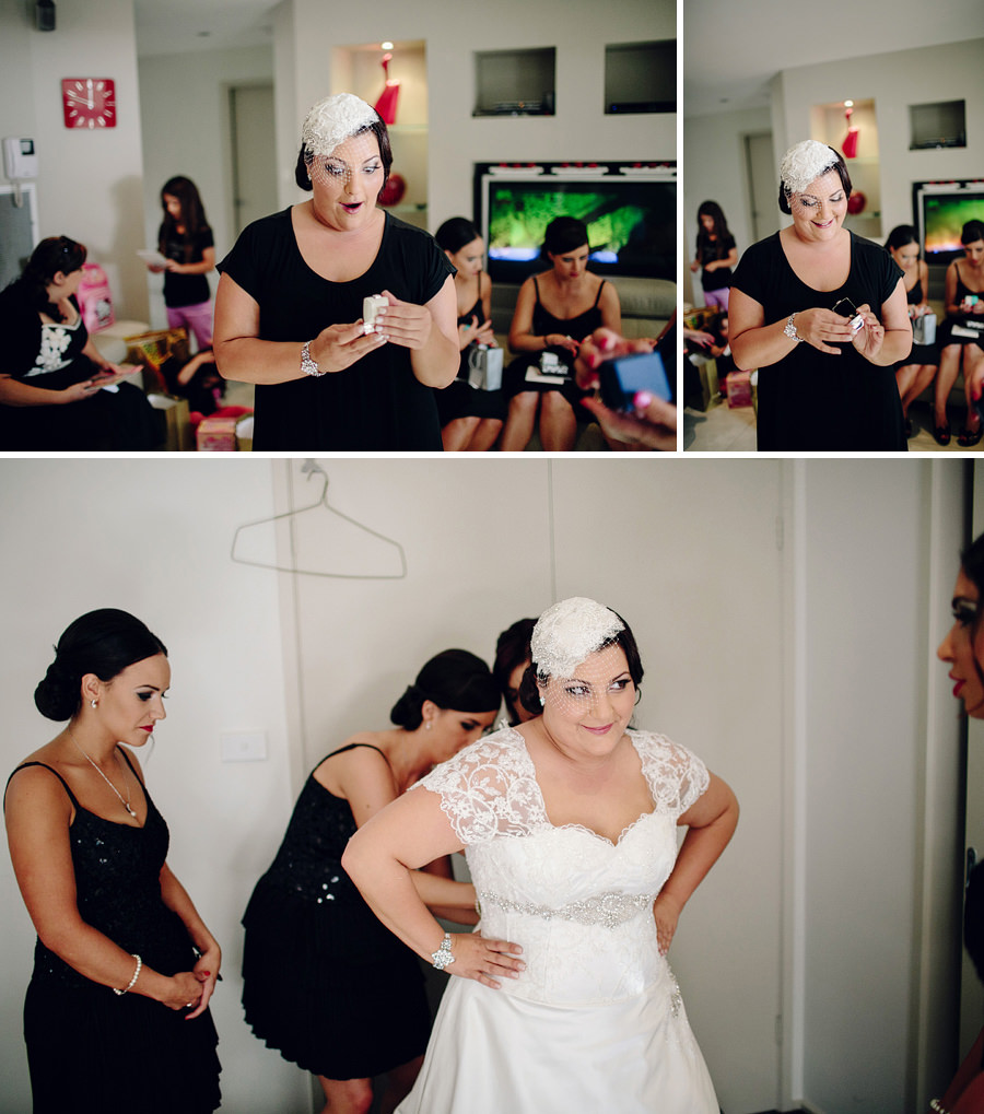 Italian Wedding Photographers: Bride getting ready