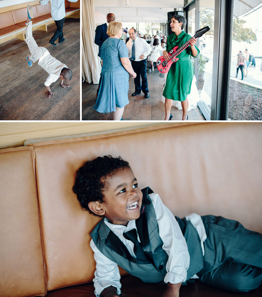 Lunchtime Wedding Photographers: Kids dancing