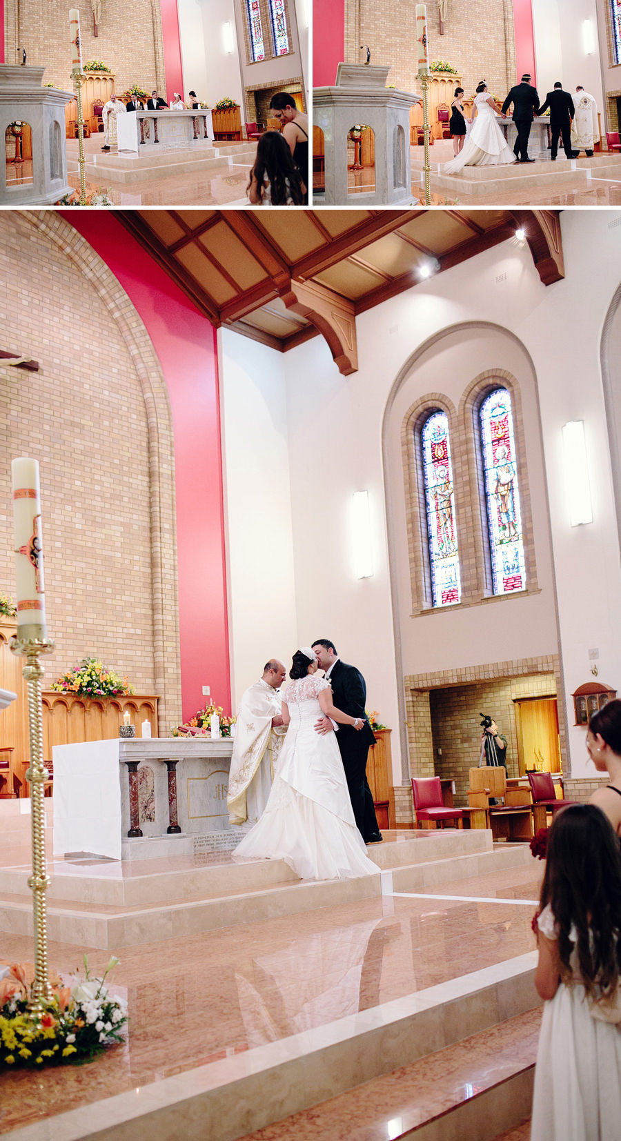 Melkite Catholic Wedding Photographers: Kiss the bride