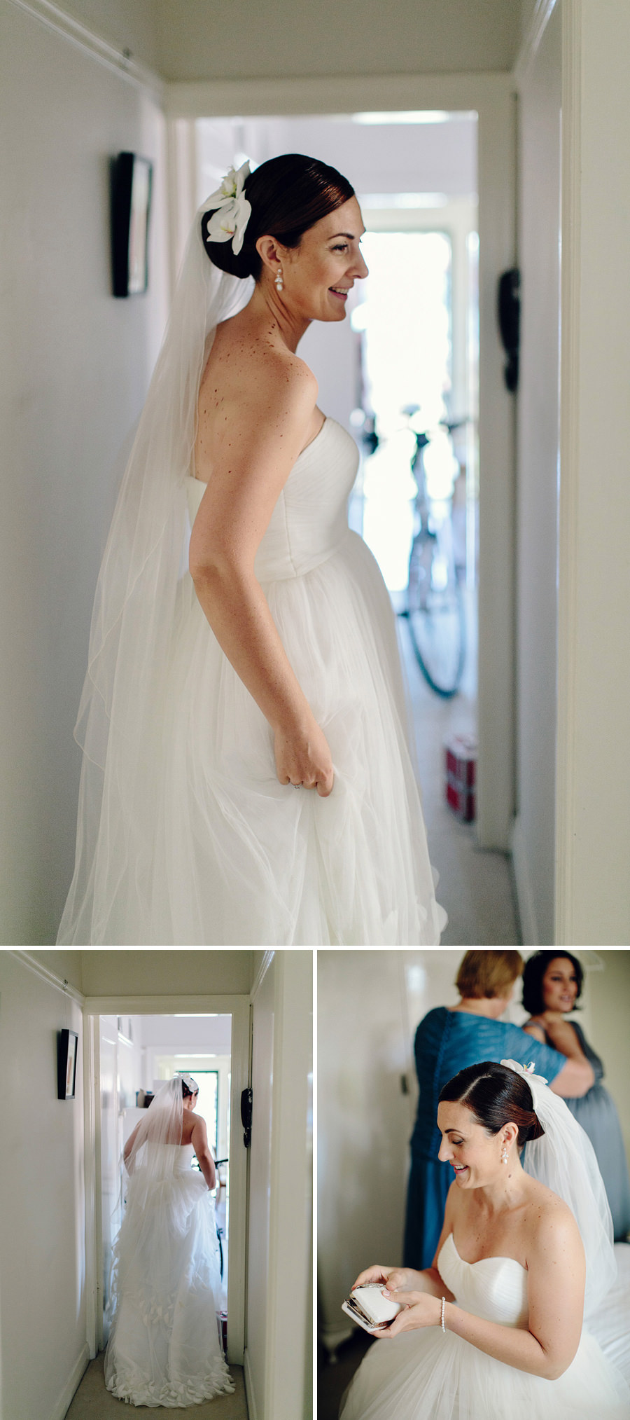 Modern Wedding Photographers: Bride getting ready