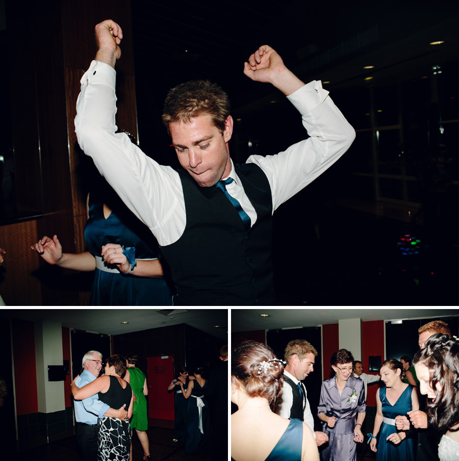 Modern Wedding Photographers: Reception dancing