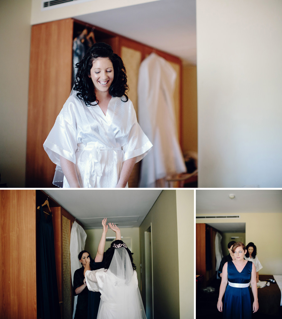 Northern Territory Wedding Photographer: Girls getting ready