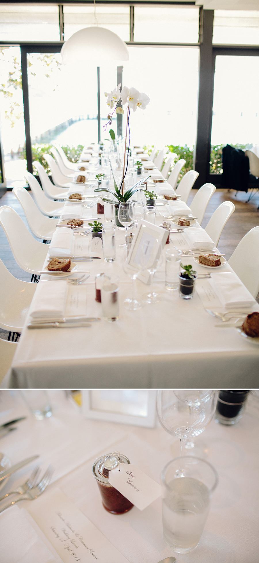 Public Dining Room Wedding Photographer: Reception details