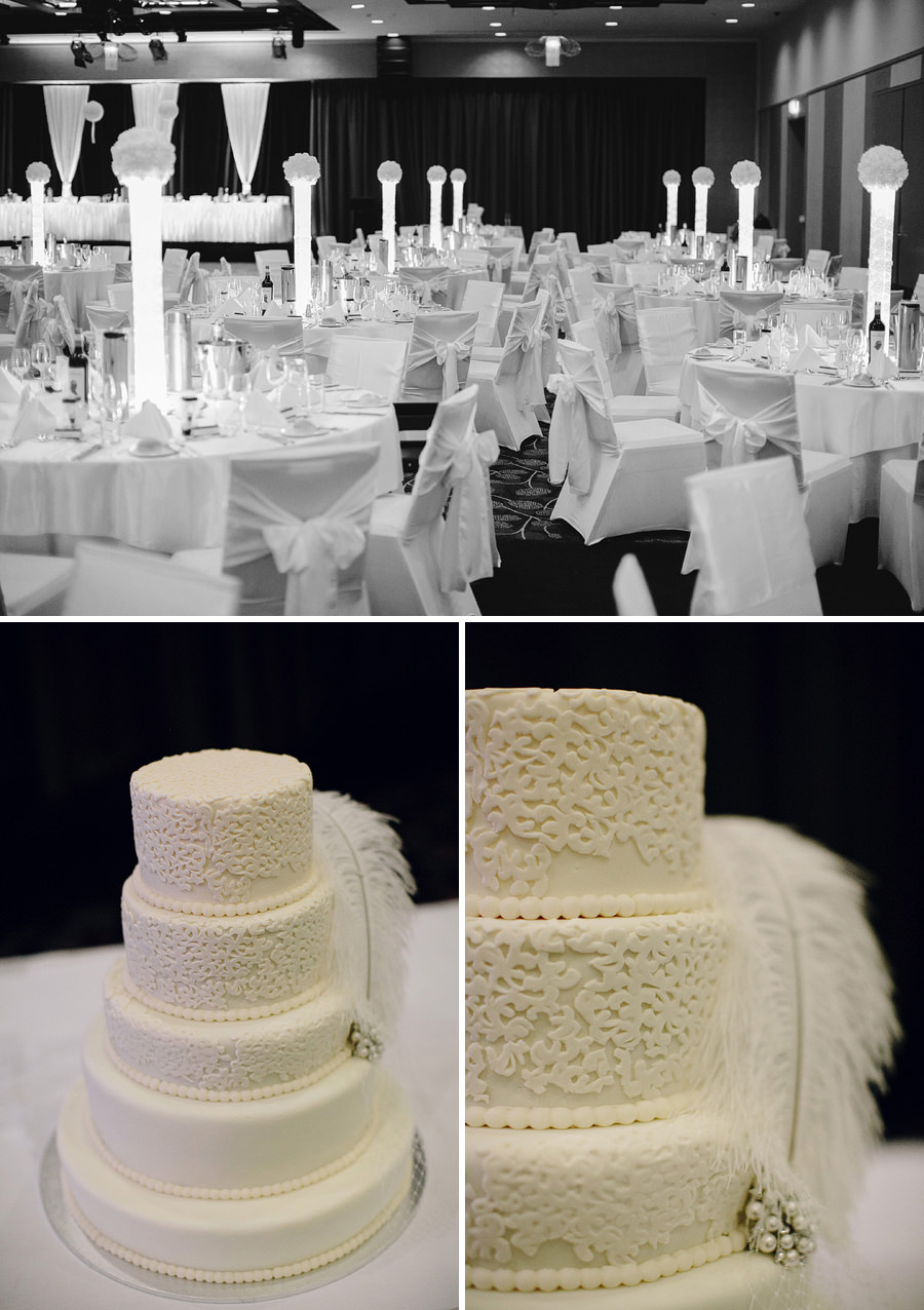 Southern Cross Club Canberra Wedding Photographers: Cake
