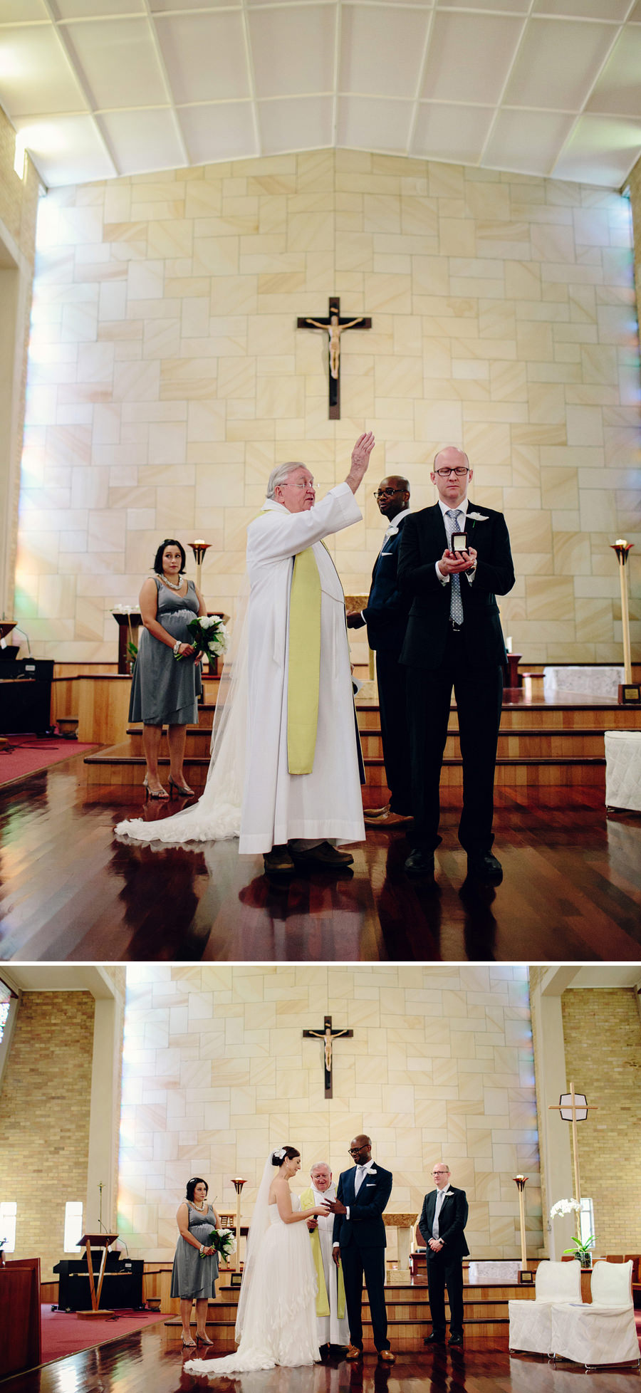Sydney Catholic Wedding Photographer: Blessing ring