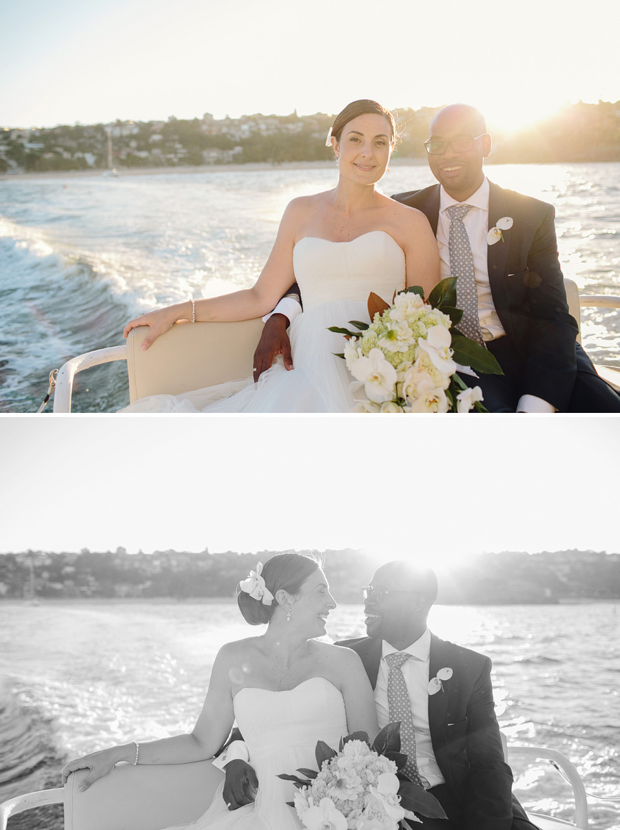 Sydney Harbour Wedding Photographer: Sunset portraits
