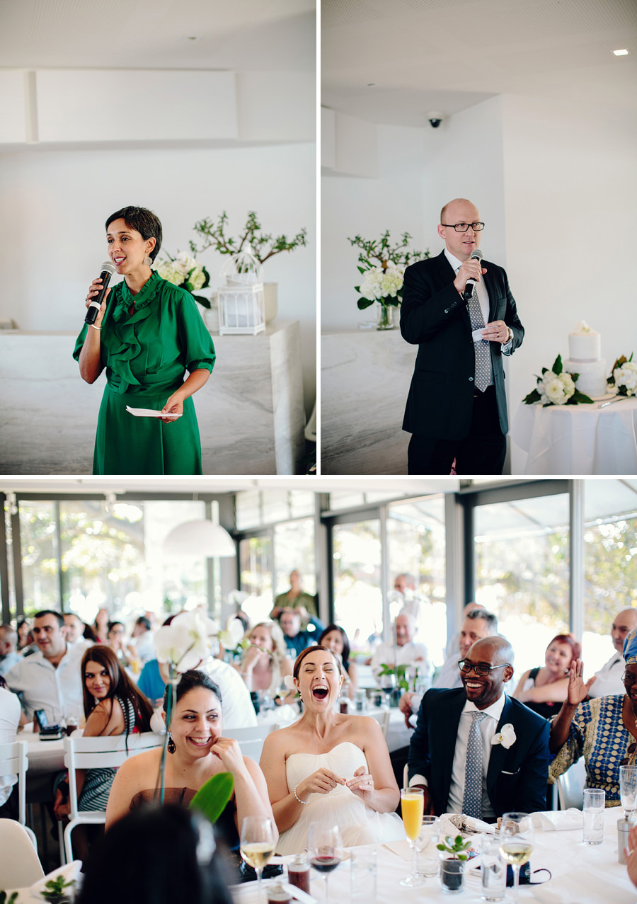 Sydney Wedding Photojournalism: Speeches