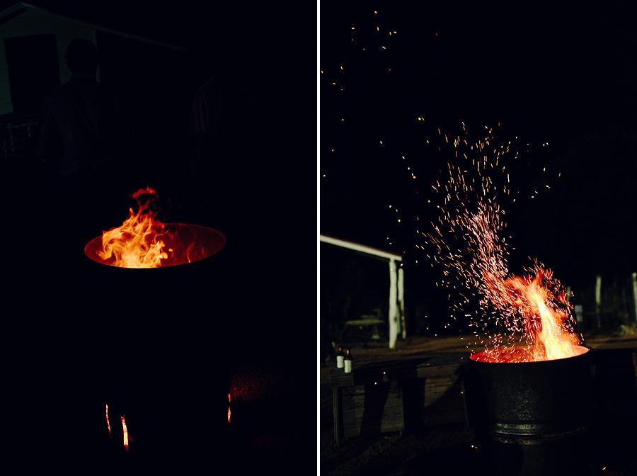 Bonfire Wedding Photographer: Bonfire