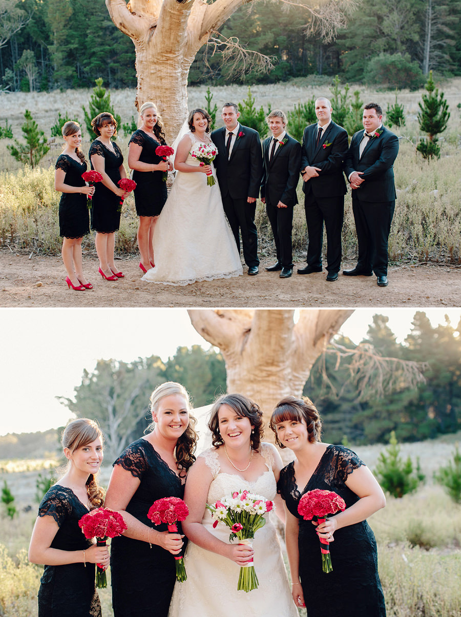 Canberra Wedding Photography: Bridal Party
