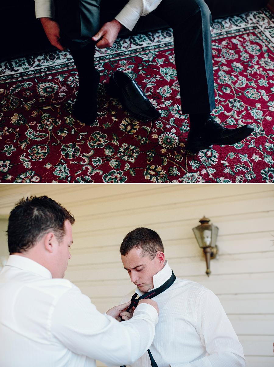 Gilmore Wedding Photographer: Groom getting ready
