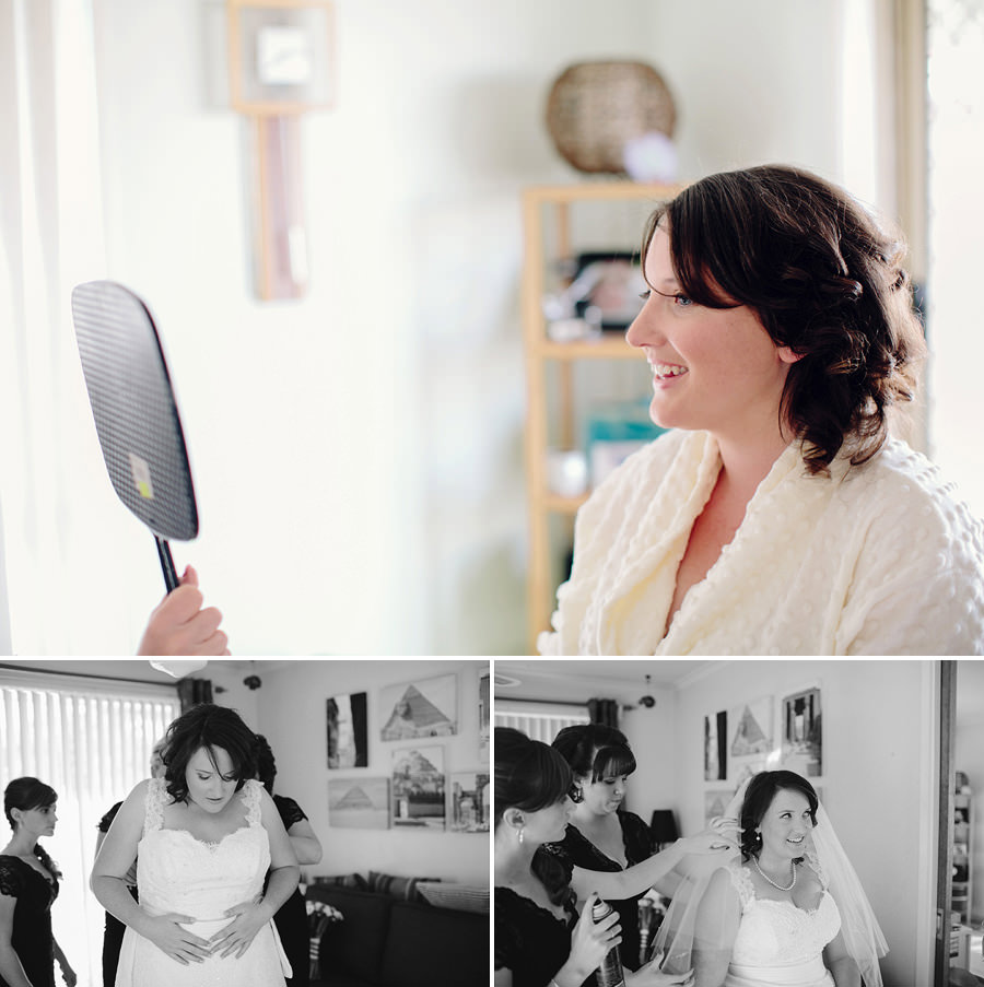 Queanbeyan Wedding Photography: Bride getting ready