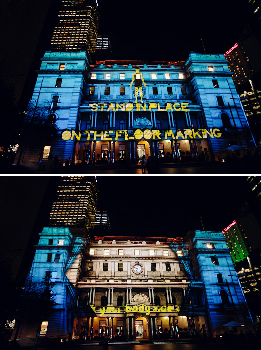 Sydney Vivid Festival Photographers: Customs House