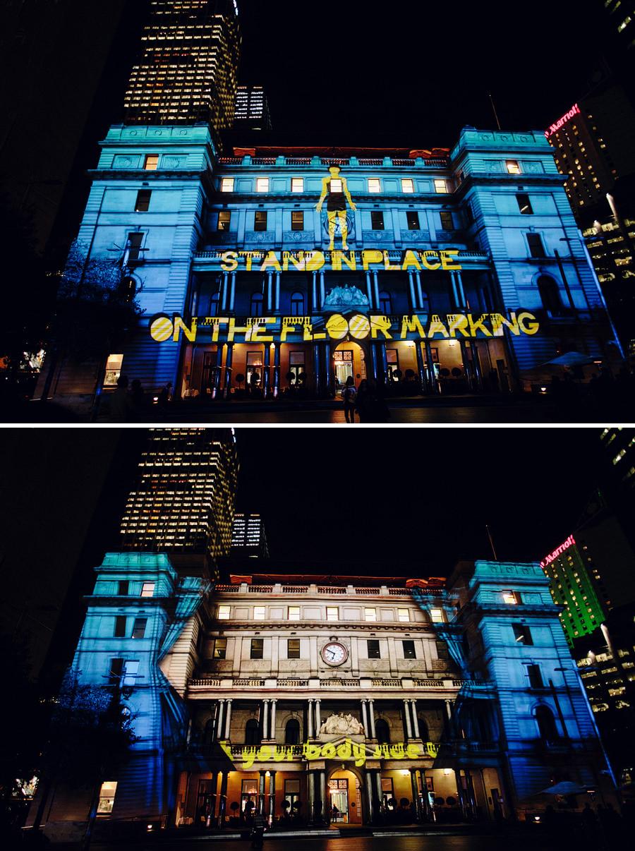 Sydney Vivid Festival Photographers: Customs House