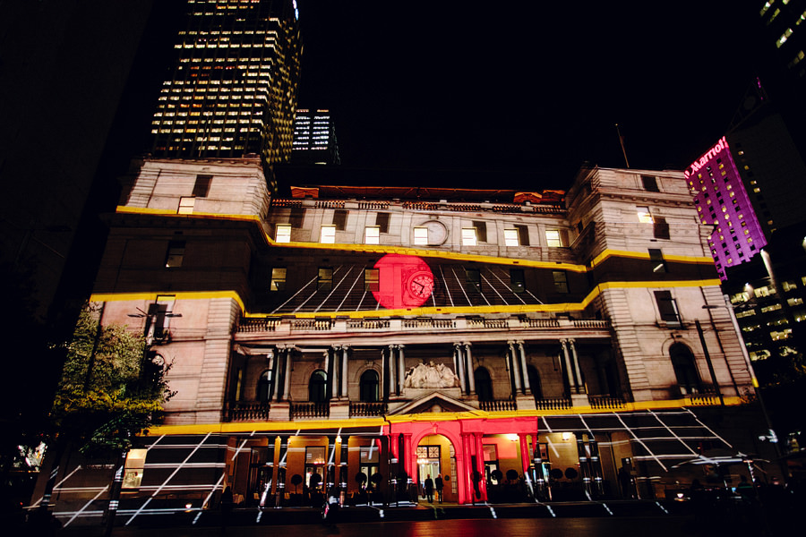 Sydney Vivid Festival Photography: Customs House