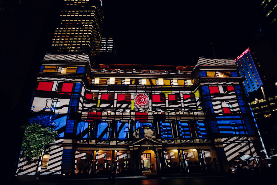 Sydney Vivid Light Festival Photographer: Customs House