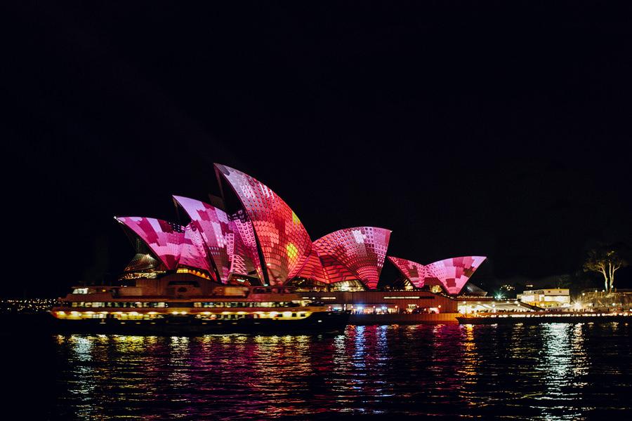 Sydney Photographer: Vivid Festival