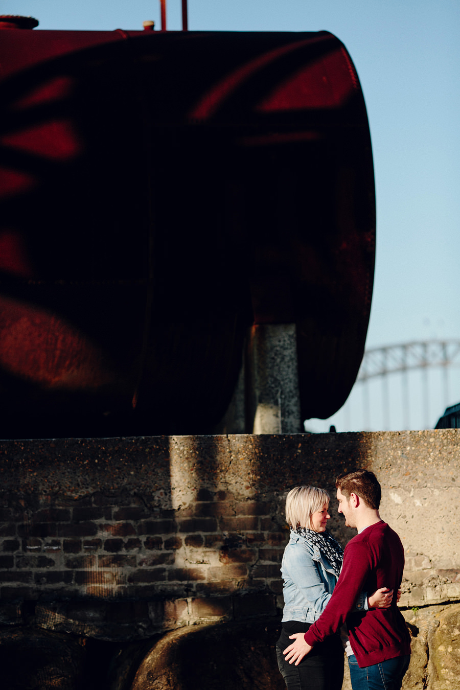 Ballast Point Park Engagement Photographers: Kelly & Isaiah