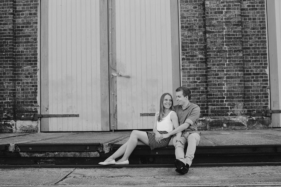 Carriageworks Engagment Session