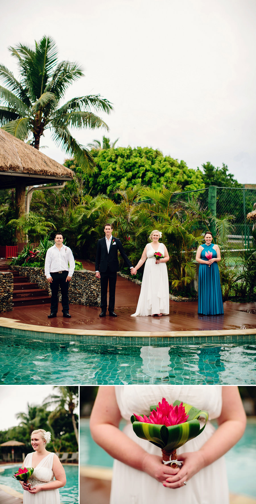 Coral Coast Wedding Photographer: Bridal party