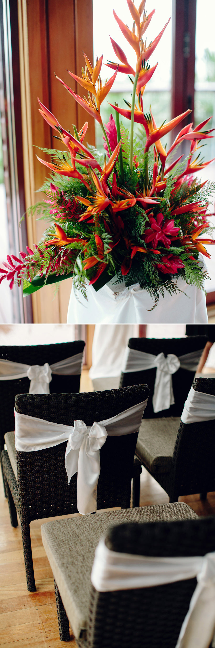 Outrigger on the Lagoon Wedding Photographer: Chapel