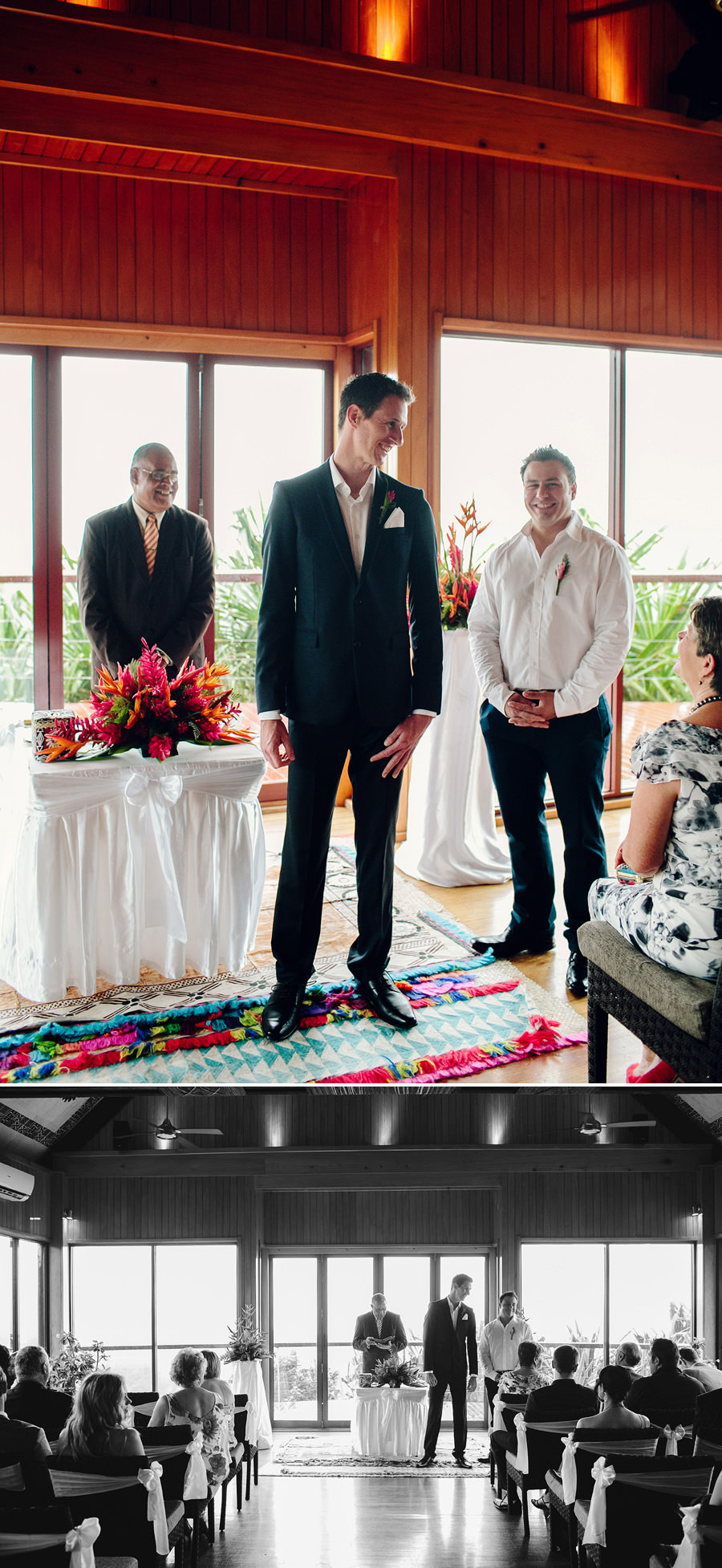 Outrigger on the Lagoon Wedding Photographers: Ceremony