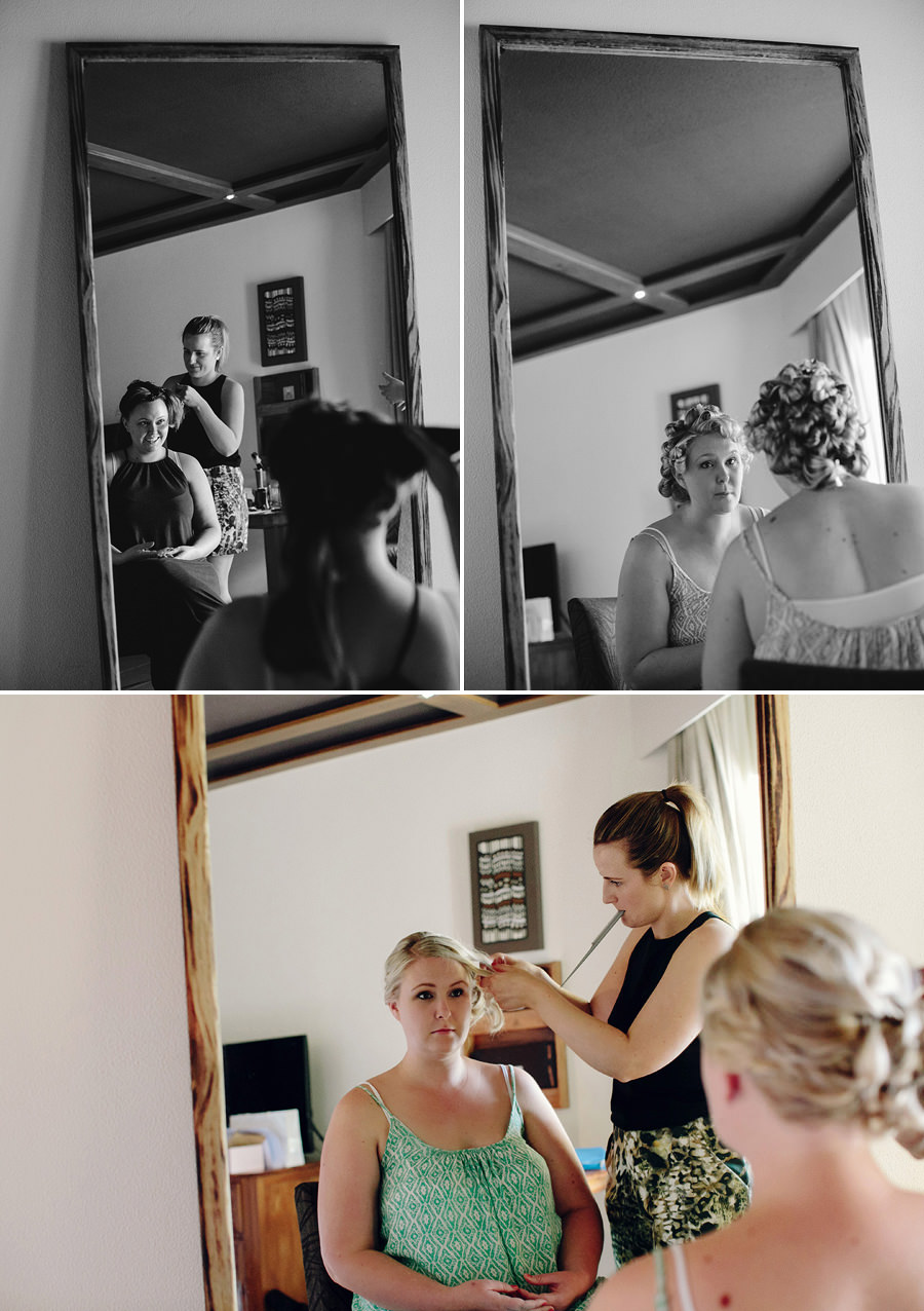 Sigatoka Wedding Photographers: Hairdresser