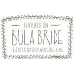 Featured on Bula Bride