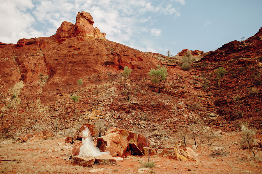 Alice Springs Wedding Photographer: Bridal Portrait