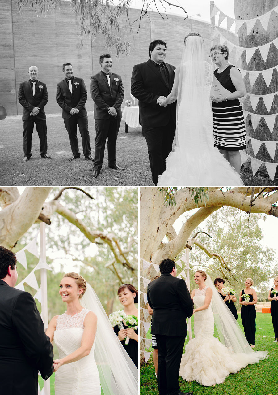 Araluen Cultrual Precinct Wedding Photographers: Ceremony