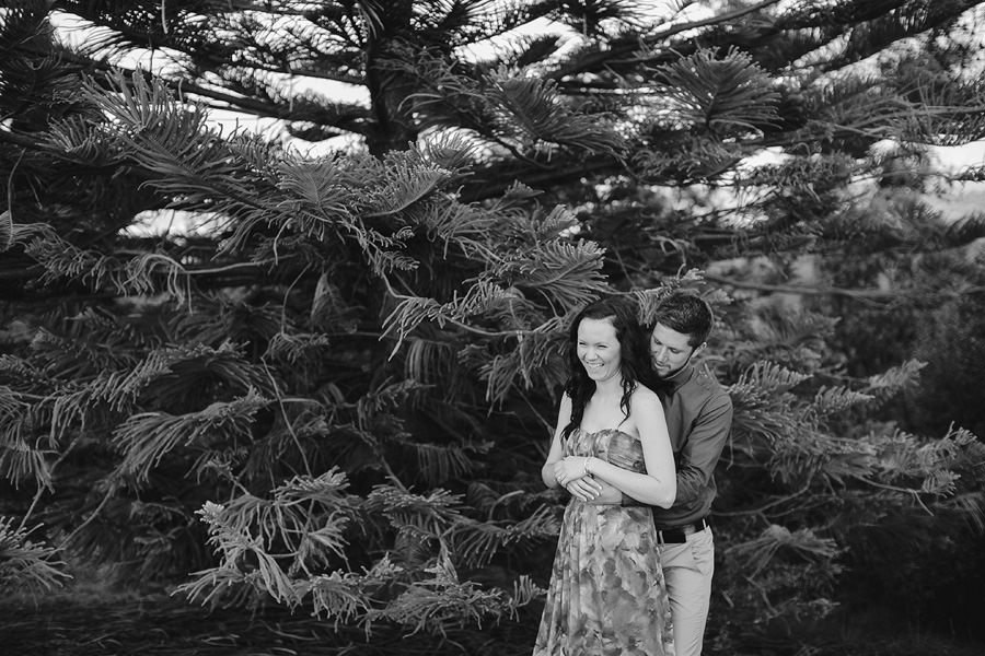 Kelsi Chris Engagement Session 33 BW