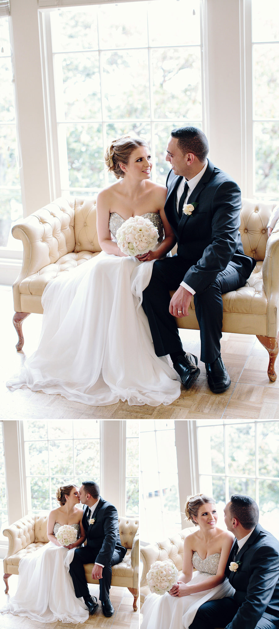 Dunbar House Wedding Photography: Bride & Groom Portraits