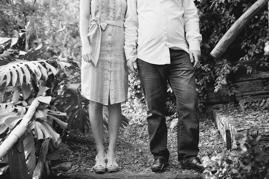Lizzie Eric Engagement 23 BW