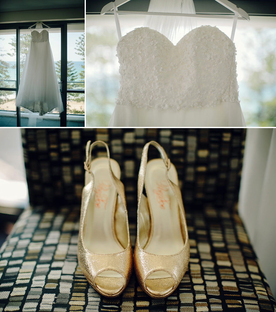Manly Wedding Photographer: Dress