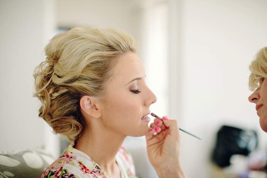 Manly Wedding Photography: Bride getting ready