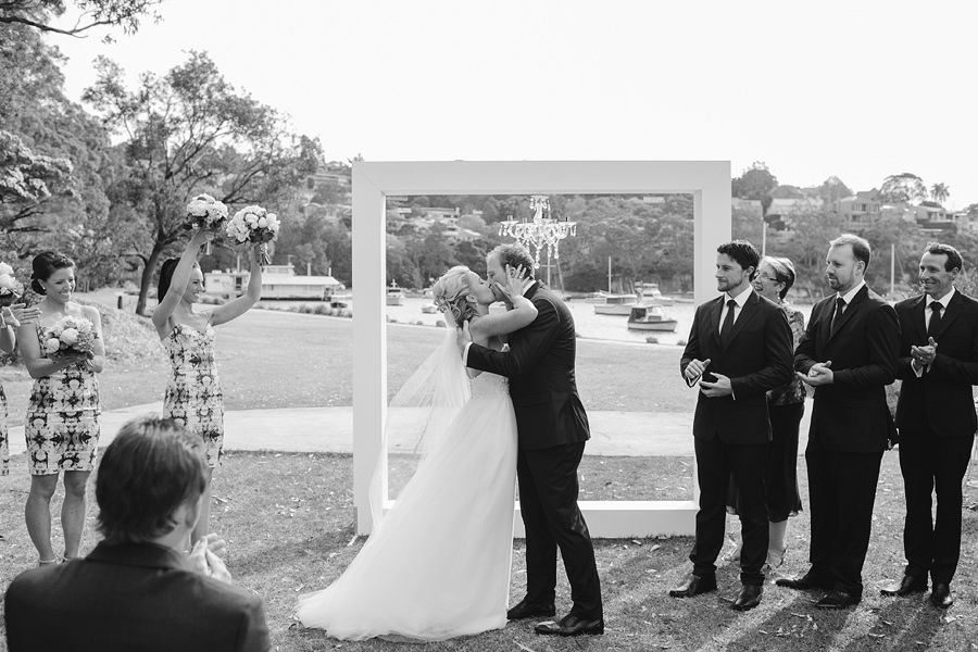 Middle Harbour Wedding Photographer: Ceremony