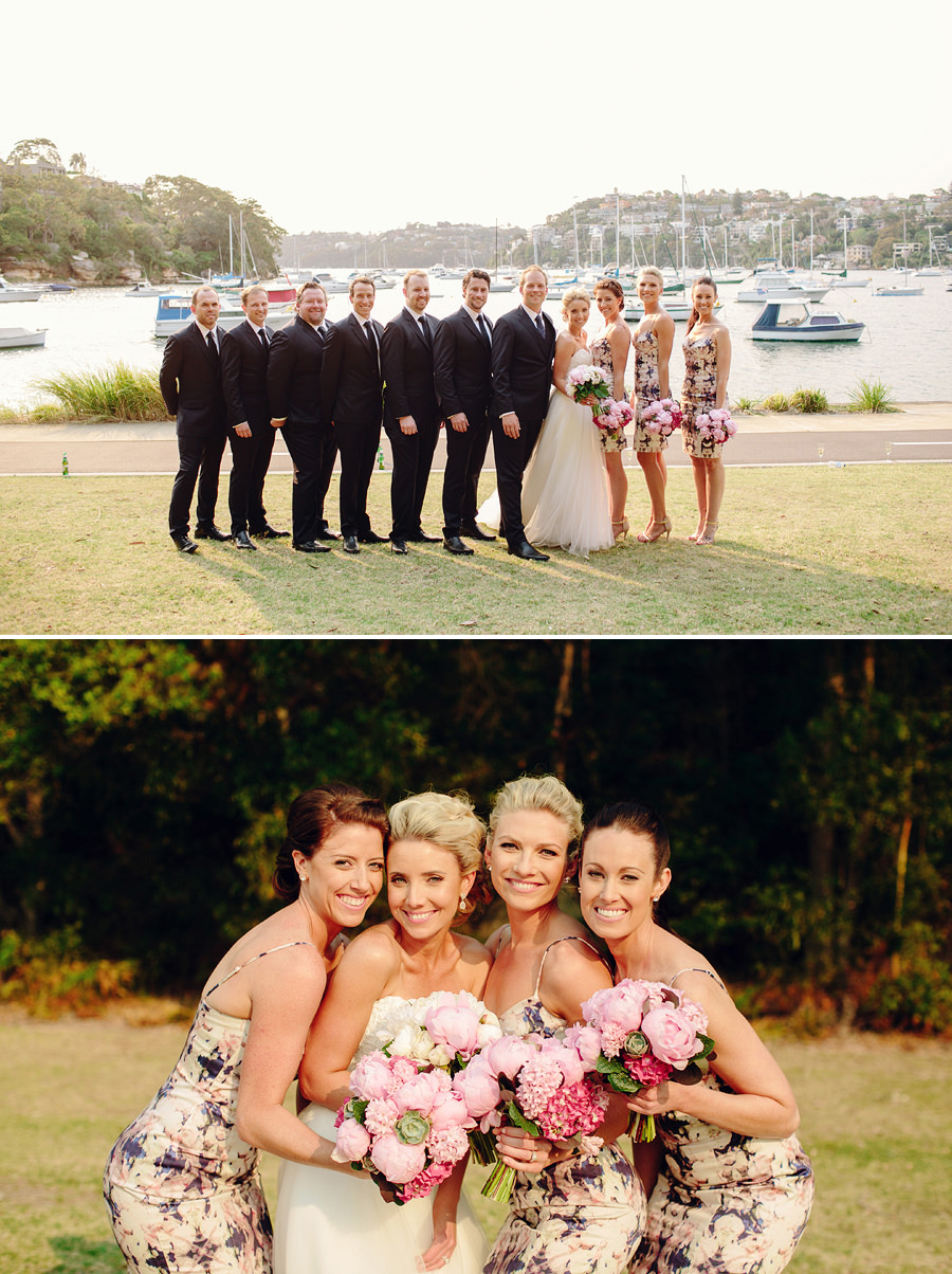 Middle Harbour Wedding Photography: Bridal Party Portraits