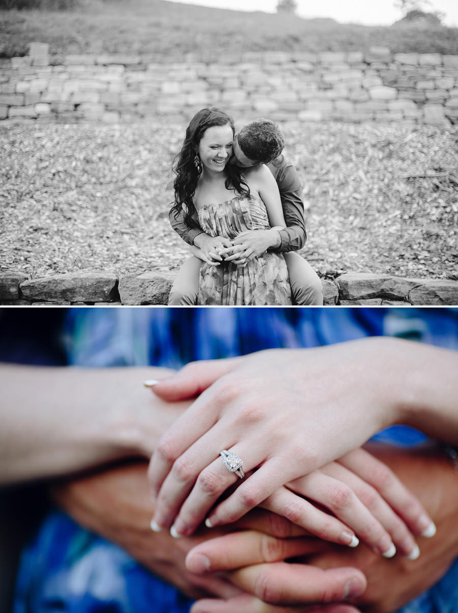 Mount Annan Botanical Gardens Engagement Photographers: Kelsi & Chris