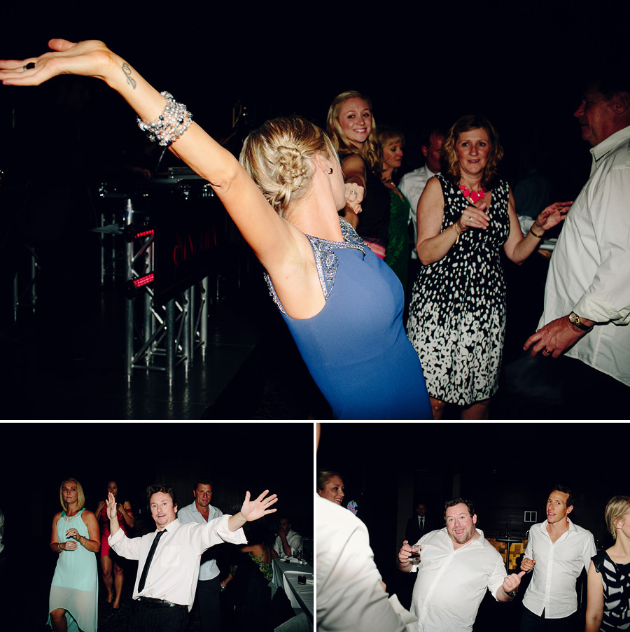 Skiff Club Wedding Photographer: Dancefloor
