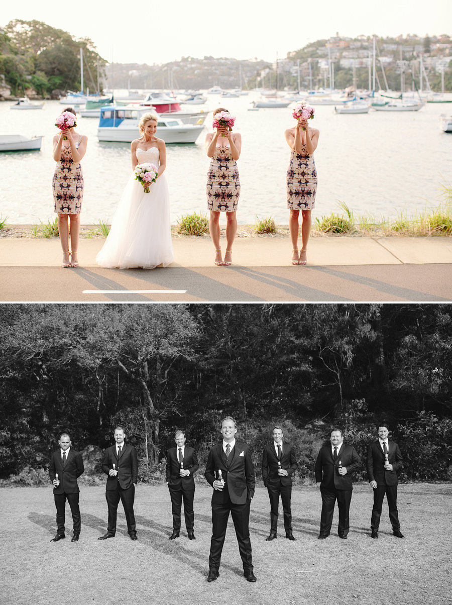 Spit Mosman Wedding Photographer: Bridal Party Portraits