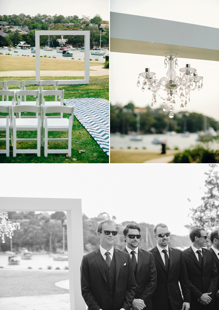 Spit West Reserve Wedding Photographers: Ceremony