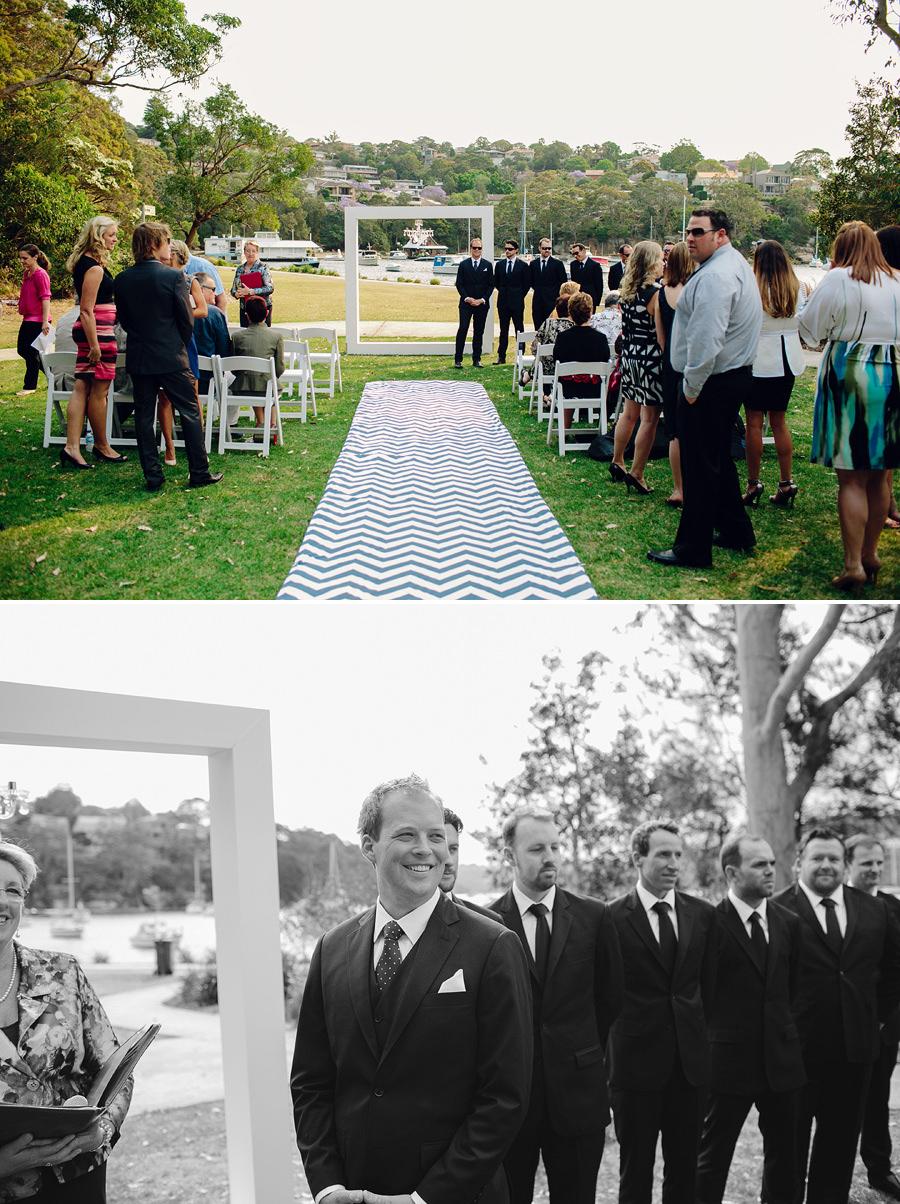 Spit West Reserve Wedding Photography: Ceremony