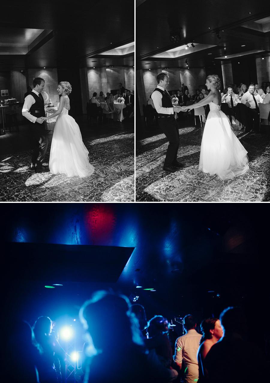 Zest Mosman Wedding Photographers: Bridal waltz