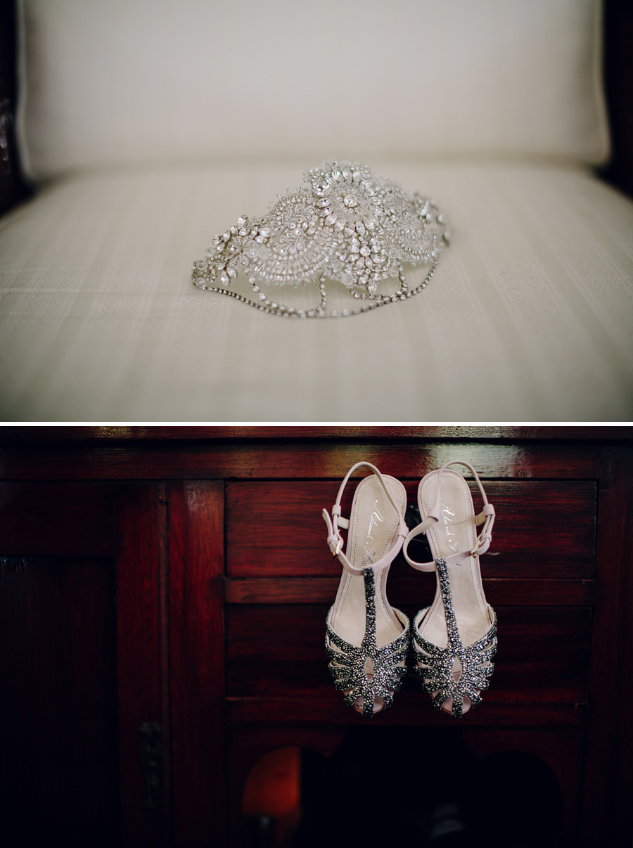 Newport Wedding Photographers: Girls getting ready