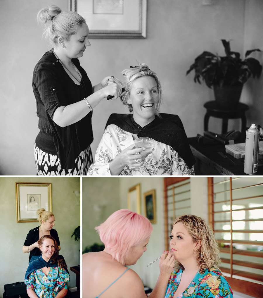 Modern Wedding Photographer: Girls getting ready