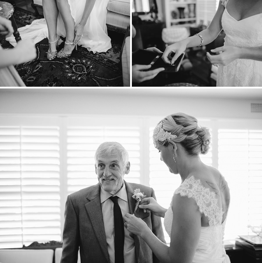 Newport Wedding Photographer: Girls getting ready