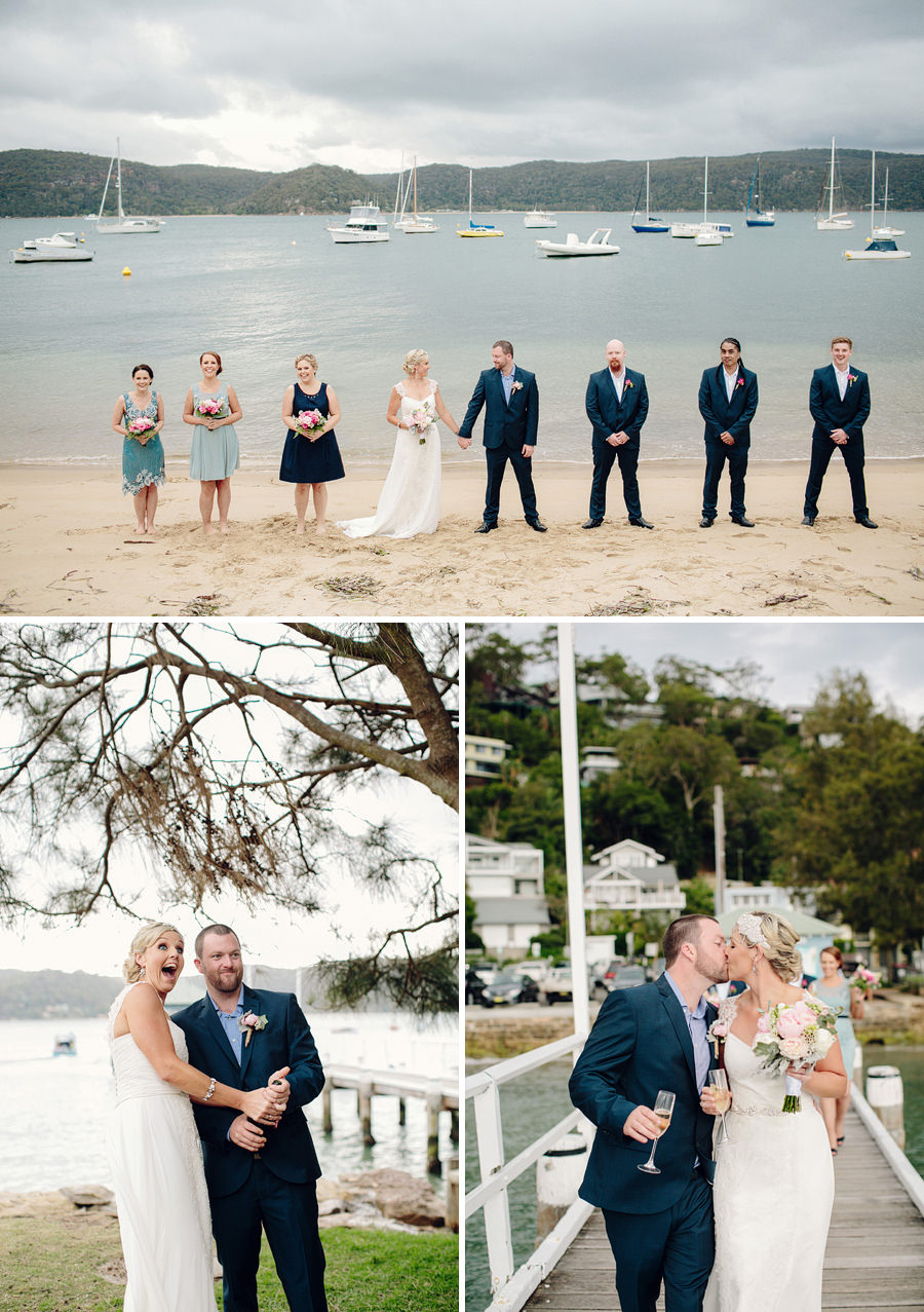 Northern Beaches Wedding Photographer: Bridal Party Portraits