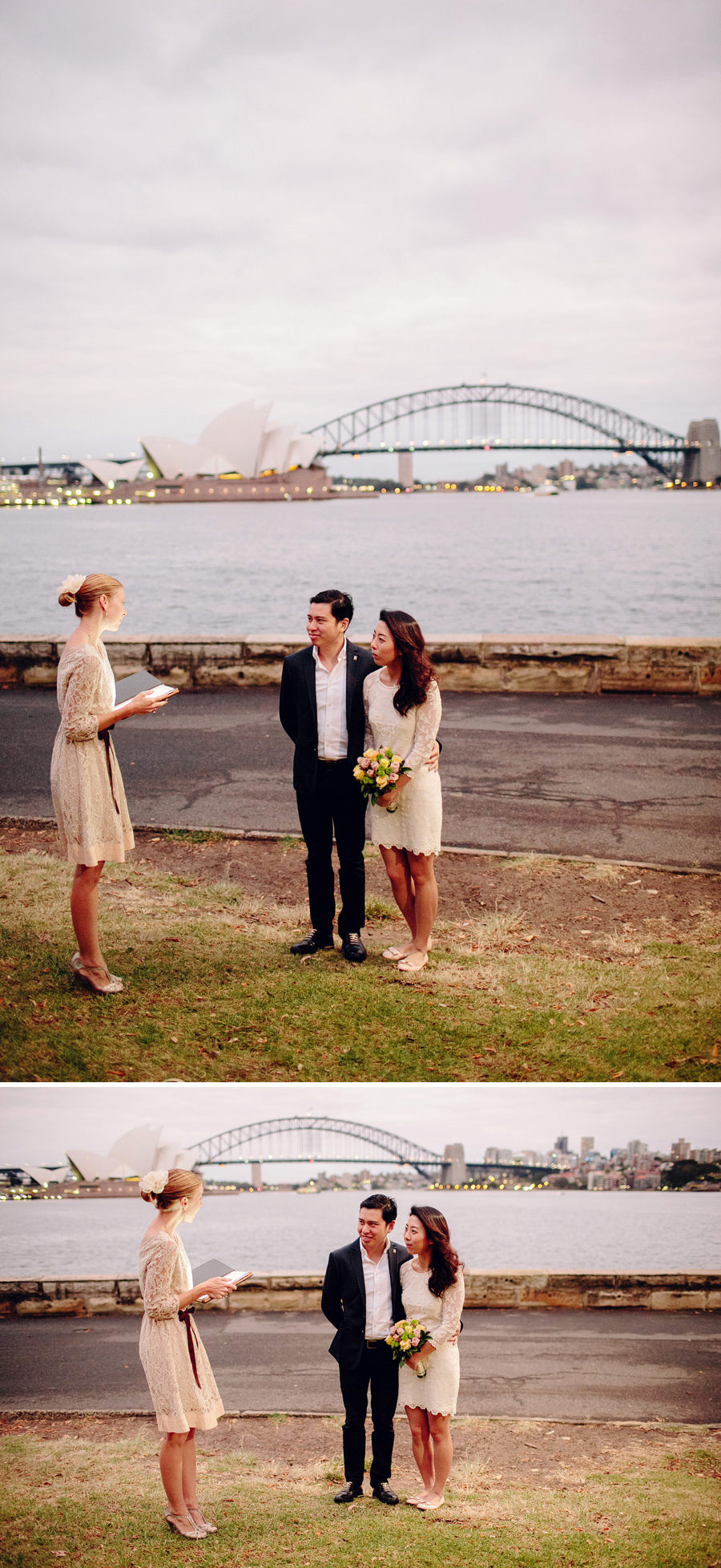 Mrs Macquarie's Chair Wedding Photographers: Faye & Ming